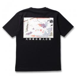 WASHED HEAVY WEIGHT CREW NECK T-SHIRT (TYPE-6)