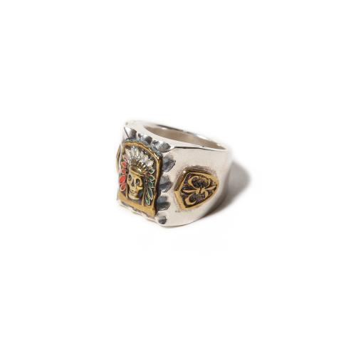 MEXICAN RING <SILVER> ★40% OFF★