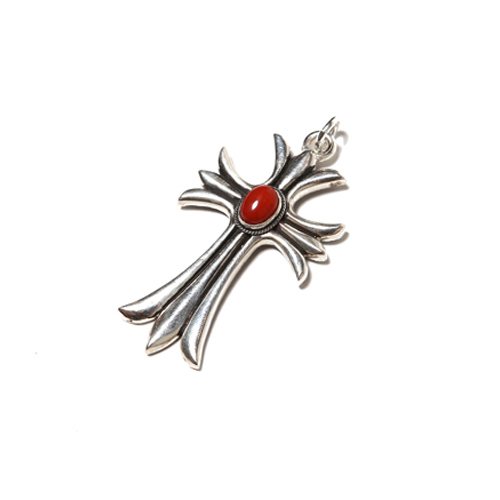 CORAL CROSS HEAD <SILVER> ★40% OFF★