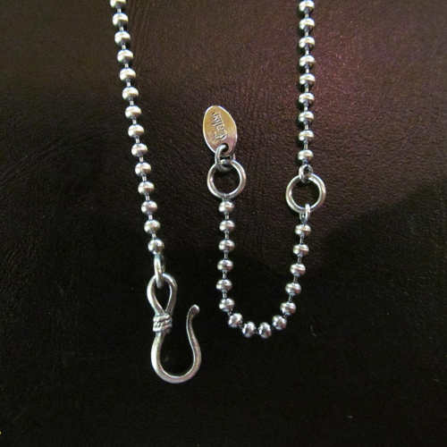 NECKLACE BALL CHAIN <SILVER> [15ST015AC]