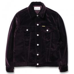 VELOUR TRUCKER JACKET (TYPE-1)