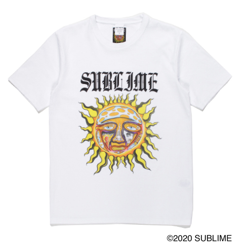 SUBLIME / WASHED H/W CREW NECK T-SHIRT (TYPE-5)