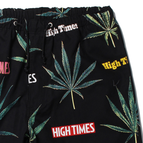 "× HIGH TIMES ""MARIJUANA"" SWIMMING SHORTS"