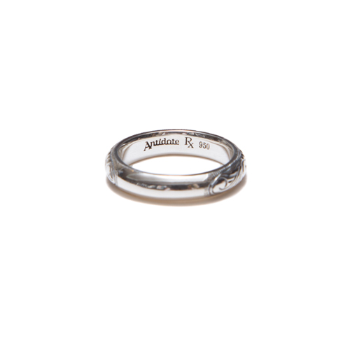 Engraved Pinky Ring