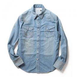 Wrangler 27MW WESTERN SHIRTS HARD WASH (TYPE-1)