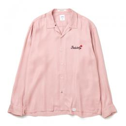 "L/S OPEN COLLAR SOUVEIR SHIRT ""MARSHALL"""