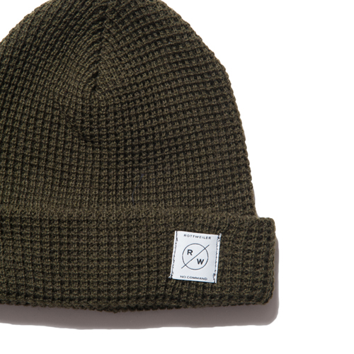 WAFFLE KNIT CAP ★30%OFF★