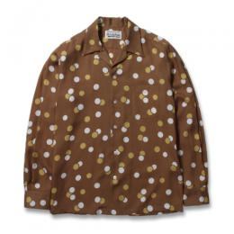 DOTS L/S HAWAIIAN SHIRT (TYPE-2)
