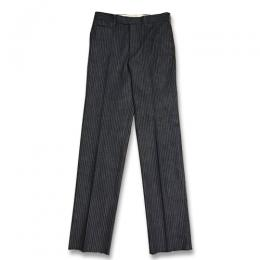 KAIHARA STRIPE DENIM STANDARD PANTS