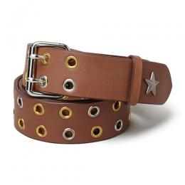 "LEATHER BELT ""TERRY"" ★30% OFF★"