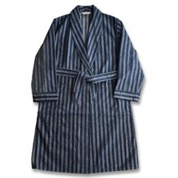 KAIHARA NEP DENIM GOWN COAT