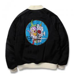 WOLF'S HEAD × WACKO MARIA REVERSIBLE SKA JACKET