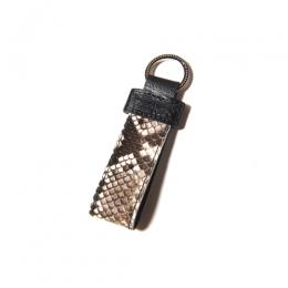 PYTHON LEATHER KEY RING