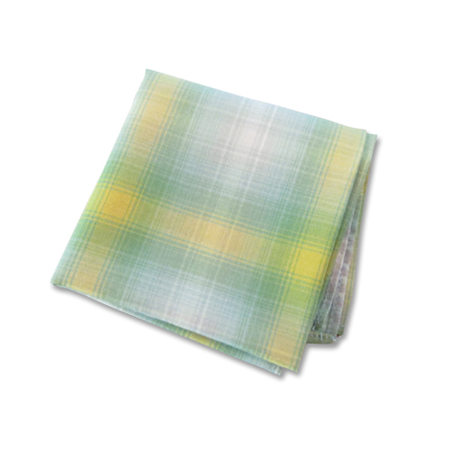OMBRE CHECK POCKET CHIEF [TSJA-69911-24]