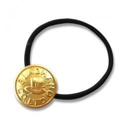 GH BUTTON - HAIR BAND <BRASS>