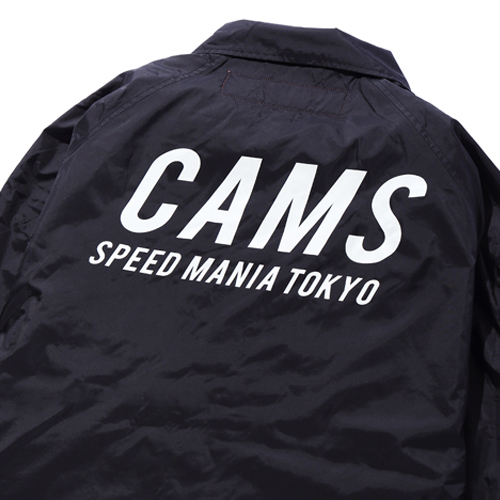 CAMS LOGO COACH JACKET