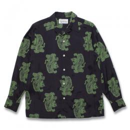 TIM LEHI / L/S HAWAIIAN SHIRT (TYPE-2)
