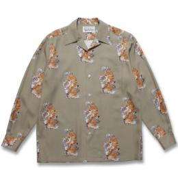 TIM LEHI / L/S HAWAIIAN SHIRT (TYPE-3)