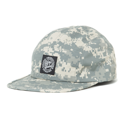 Digital Camouflage 5 Panel Jet Cap