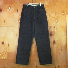 KAIHARA STRIPE DENIM WORK PANTS (L-PKT) [TSJP-5280