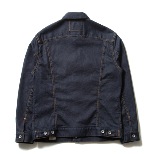 Trucker Knit Denim Jacket (1 Wash)