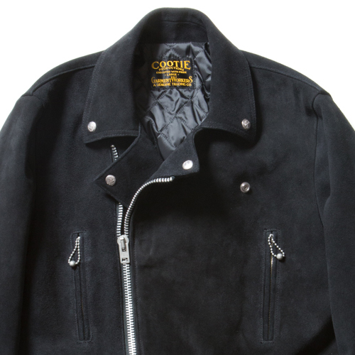 3rd St Suede Leather Jacket