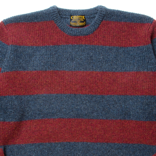 Border Low Gauge Sweater