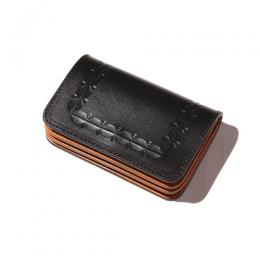 EMBOSSING LEATHER MINI WALLET [17AW1004]