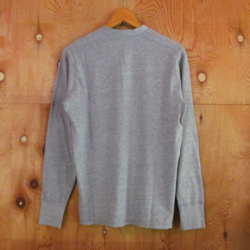 HENLEY NECK L/S SHIRT ★40%OFF★