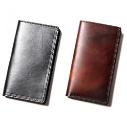 PLAIN LEATHER SMARTPHONE COVER [17AW1027]