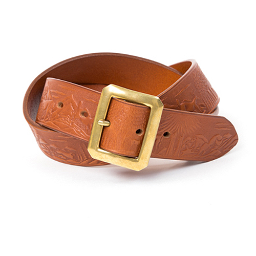 Bandit Leather Belt (Figure)