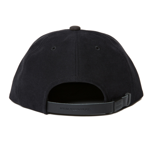 Cotton Suede 6 Panel Cap <2TONE>