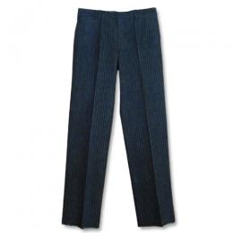 KAIHARA STRIPE DENIM STANDARD PANTS [TSJP-62002-02