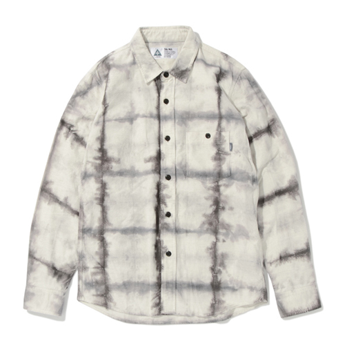 DYED FLANNEL SHIRT