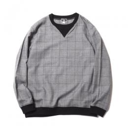 GLEN CHECK PULLOVER SHIRT