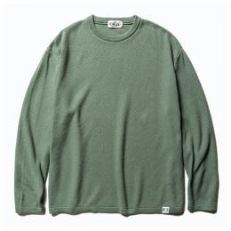 CREW NECK COTTON KNIT SWEATER