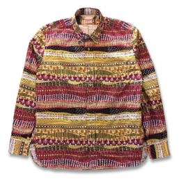 TENDERLOIN x THE STYLIST JAPAN B.D SHIRT (BROWN)