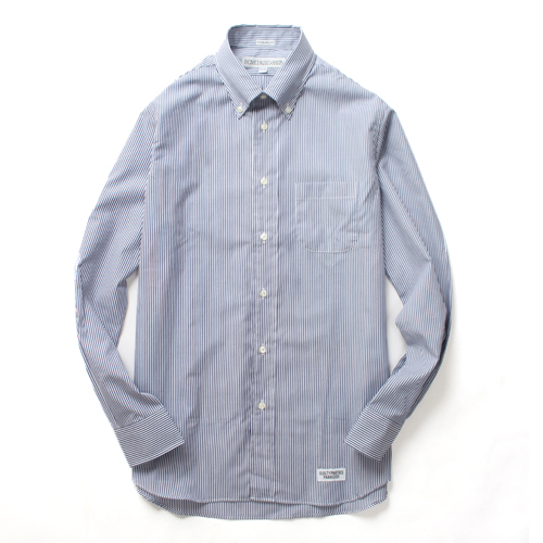 × INDIVIDUALIZED STANDARD FIT STRIPE B.D SHIRT