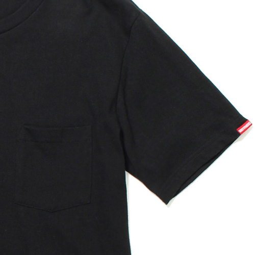 HEAVY WEIGHT CREW NECK POCKET T-SHIRT (TYPE-7)