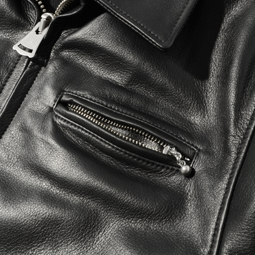 LEATHER CAR JACKET★30%OFF★
