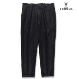 PLEATED TROUSERS (TYPE-1) <DORMEUIL>