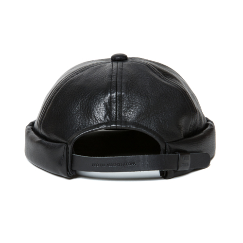 Leather Thug Cap