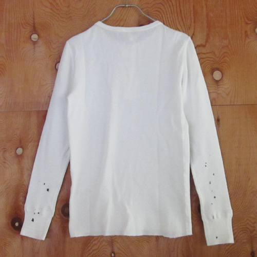 WAFFLE HENRY L/S T-SHIRTS (USED)【GH-11 USED】