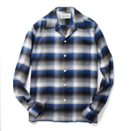 CALIFORNIA CHECK OPEN COLLAR SHIRT (TYPE-1)