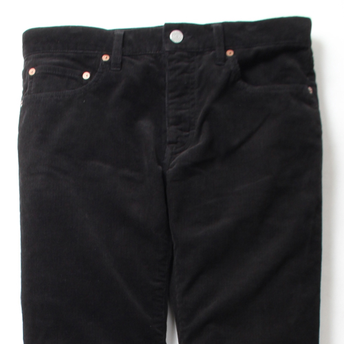 REGULAR STRAIGHT CORDUROY PANTS