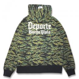 OLD LOGO EMBROIDERY ZIPUP SWEAT PARKA