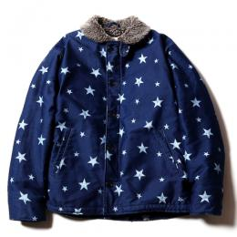 STAR PATTERN N-1 TYPE DECK JACKET [17AW070]