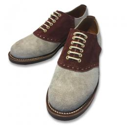 SADDLE SUEDE - SHOES