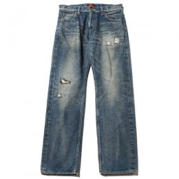 USED FIVE POCKET SLIM DENIM PANTS [17AW095]