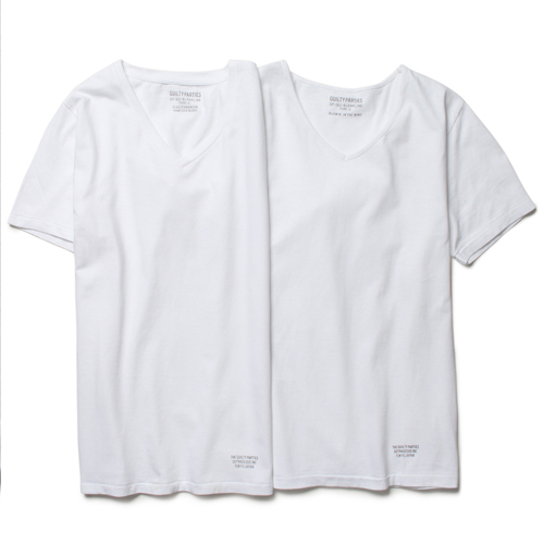 CLASSIC 2 PACK V NECK T-SHIRT (TYPE-1)